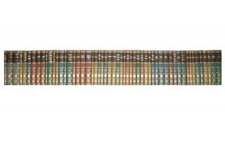 A complete set of 54 volumes of 'The Great Books of the Western World'. Great Books of the...