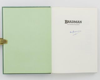 Bradman. The Illustrated Biography .. Using the Private Possessions of Sir Donald Bradman