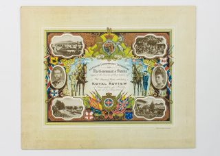 Australian Commonwealth Celebrations. The Government of Victoria requests the honour of the...