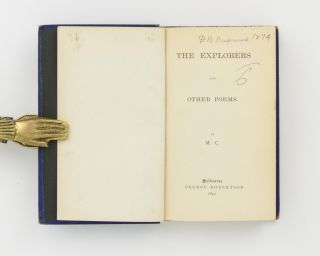 The Explorers and other Poems by ...C.