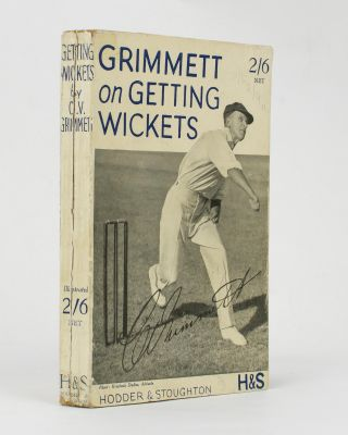 Getting Wickets. Cricket, C. V. GRIMMETT