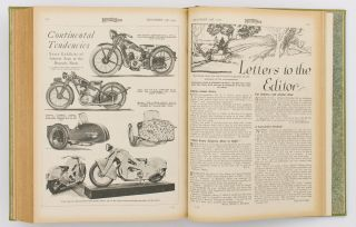 The Motor Cycle. Volume 49, Number 1526, 7 July 1932 to Number 1551, 29 December 1932. [Together with Volumes 50, 51 and 53]