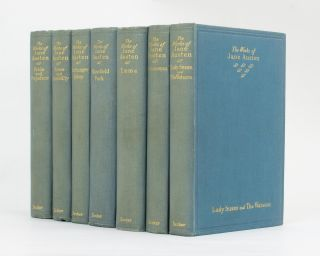 The Adelphi Edition of the Works of Jane Austen [in seven volumes]. Jane AUSTEN