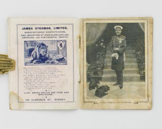 Sydney, 1910. Historic Souvenir. Field-Marshal Lord Kitchener [cover title]