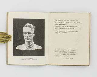Catalogue of an Exhibition of Paintings, Pastels, Drawings and Woodcuts illustrating Col. T.E. Lawrence's Book 'Seven Pillars of Wisdom'. With Prefaces by Bernard Shaw and T.E. Lawrence