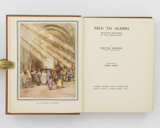 Nile to Aleppo. With the Light-Horse in the Middle-East