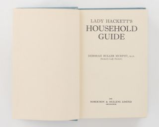 Lady Hackett's Household Guide