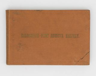 Kalgoorlie - Port Augusta Line [cover title]. Railways