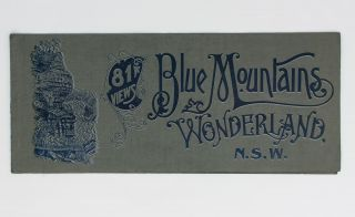 Blue Mountains Wonderland. 81 Views [cover title]. Harry PHILLIPS