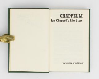 Chappelli. Ian Chappell's Life Story