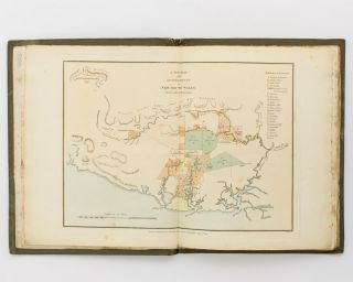 The Present Picture of New South Wales; illustrated with Four Large Coloured Views, from Drawings taken on the Spot, of Sydney, the Seat of Government, with a Plan of the Colony, taken from actual Survey by Public Authority .. with Hints for the Further Improvement of the Settlement