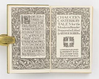 Chaucer's Canterbury Tales for the Modern Reader