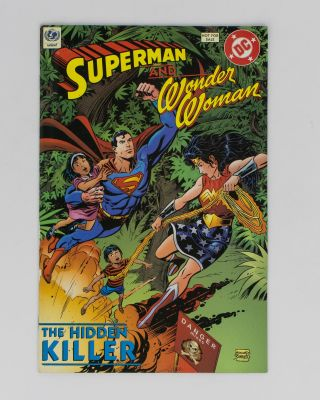 Superman and Wonder Woman. The Hidden Killer. Landmine Awareness, Andy HELFER, Eduardo BARRETO