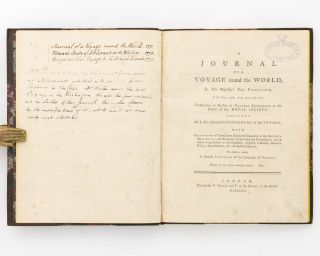 A Journal of a Voyage round the World in His Majesty's Ship 'Endeavour' in the Years 1768, 1769,...