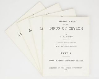 Coloured Plates of the Birds of Ceylon. With a Short Description of Each Bird by W.E. Wait. Part...