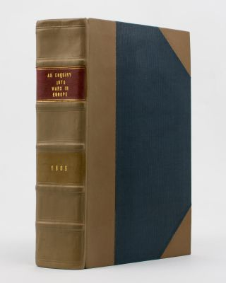 A bound volume of eight pamphlets or books relating to war and global affairs, published at the...