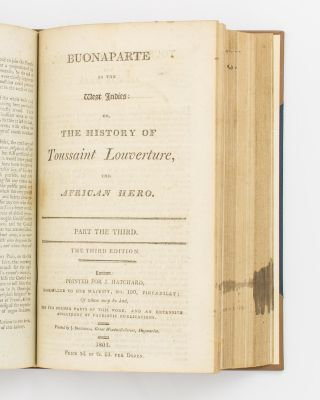 A bound volume of eight pamphlets or books relating to war and global affairs, published at the height of the Napoleonic Wars