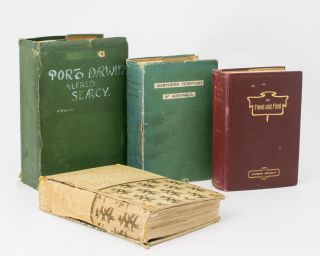 An important archive of four books relating to the early history of the Northern Territory,...