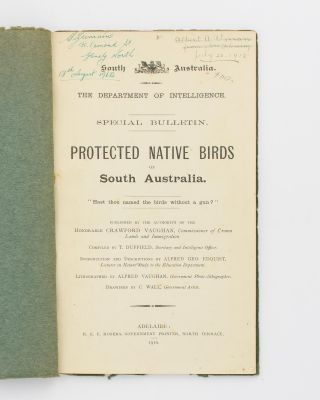 Protected Native Birds of South Australia