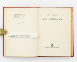 The Works of Max Beerbohm [complete in 10 volumes]