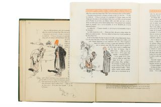 The original preliminary artwork for a lavish promotional publication for the Parisian fashion...
