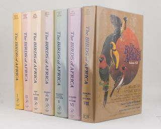 The Birds of Africa [in seven volumes]. Leslie H. BROWN, Kenneth NEWMAN, Emil K. URBAN