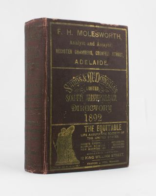 Sands & McDougall's (Limited) South Australian Directory for 1892, with which is incorporated...