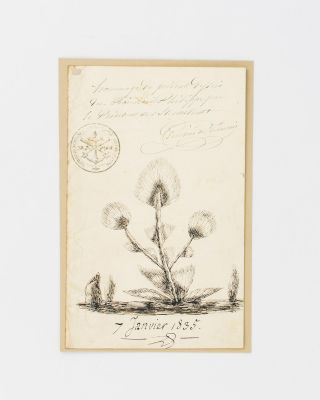 A manuscript document signed by Louis Philippe to the French Ambassador to Russia, Prosper de...