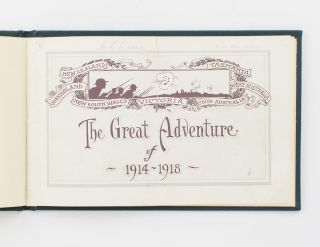 The Great Adventure of 1914-1918