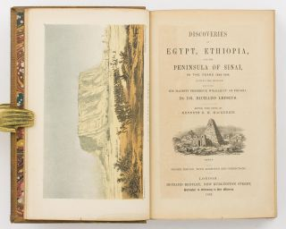 Discoveries in Egypt, Ethiopia, and the Peninsula of Sinai, in the Years 1842-1845, during the...