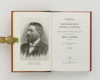 Journal of Explorations in Central Australia by The Central Australian Exploration Syndicate, Limited, under the Leadership of Allan A. Davidson, 1898 to 1900. South Australian Parliamentary Paper No. 27, 1905