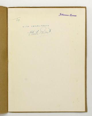 P. Neville Barnett and his Books [cover title]