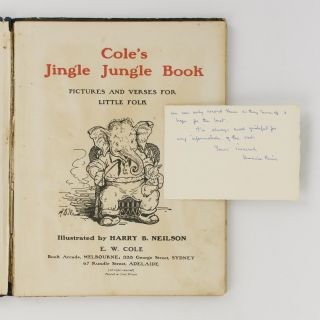 Cole's Jingle Jungle Book. Pictures and Verses for Little Folk