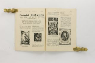 Pictorial Bookplates. Extracts from P. Neville Barnett's Publications. [Contained in] The Art Student. An Illustrated Magazine for Students & Lovers of Art. Volume 1, Number 1, 15 February 1932