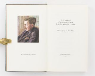 Correspondence with E.M. Forster and F.L. Lucas. Edited by Jeremy and Nicole Wilson