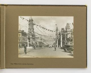 City of Adelaide. Souvenir of Visit of T.R.H. the Duke and Duchess of York, 1927 [cover title]