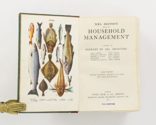 Mrs Beeton's Book of Household Management. A Guide to Cookery in All Branches.. New Edition. Revised, enlarged, brought up to date, and fully illustrated