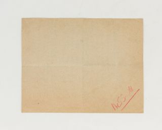An autograph letter signed (as ...E. Shaw) to 'Dear Bordewich', relating to 'boats for the RAF'