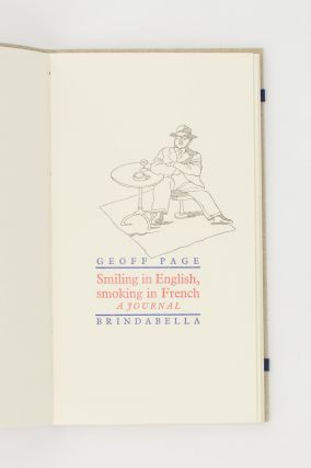 Smiling in English, Smoking in French. A Journal [of travel poems]