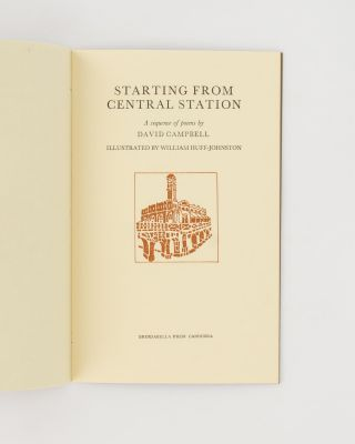 Starting from Central Station. A Sequence of Poems