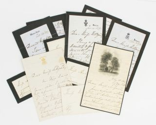 A collection of five autograph letters signed by Queen Victoria ('VR') to Miss Sarah Anne...