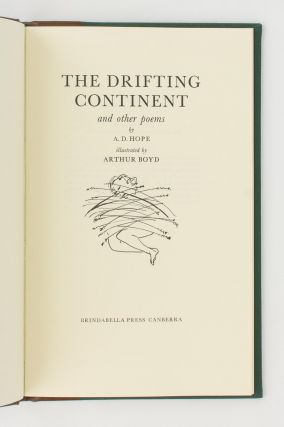 The Drifting Continent and Other Poems. Illustrated by Arthur Boyd