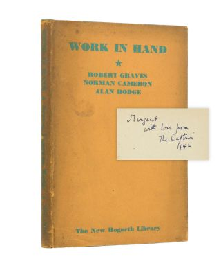 Work in Hand. together, Norman CAMERON, Alan HODGE