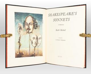 Shakespeare's Sonnets. A Selection. [Illustrated by] Keith Michell. Foreword by Sir Robert...