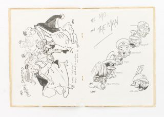 The Billy Book. Hughes Abroad. Cartoons by Low. [50 New Drawings by Low (cover title)]