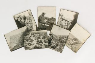 A superb collection of 60 vintage photographs showing life in the trenches at Gallipoli, possibly...