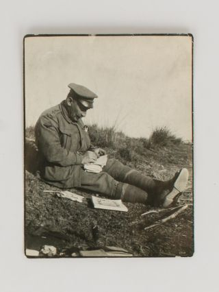 A superb collection of 60 vintage photographs showing life in the trenches at Gallipoli, possibly taken by Albert Percy Bladen, Methodist chaplain with the 23rd Battalion