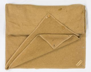 A Jaeger camel-hair woollen blanket-sleeping bag as supplied to members of the Australasian Antarctic Expedition, 1911-1914