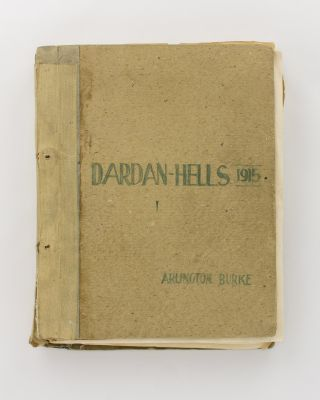Dardan-Hells, 1915. Being the Unofficial Log of a Battleship which took an Active Part in the Exploit from Start to Finish of the Dardanelles and the Gallipoli Campaign Adventures [an unpublished typescript manuscript prepared for publication circa 1960]