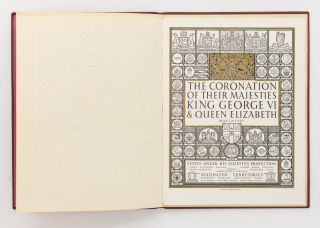 The Coronation of Their Majesties King George VI & Queen Elizabeth [May 12th 1937]. Official Souvenir Programme [cover title]